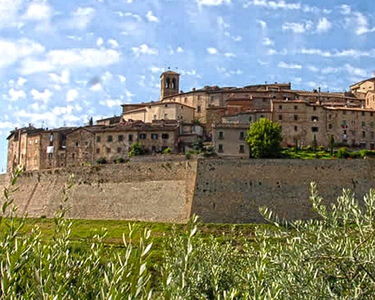 Anghiari in provincia di Arezzo, tra bellezza e cultura