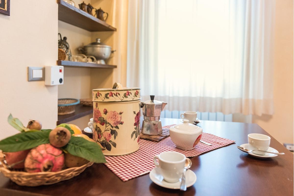 Appartamento Donatella - Tavolo colazione