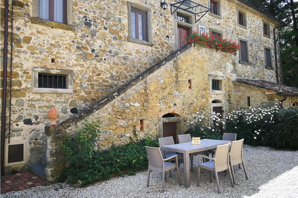 Appartamento Donatella - Tavolo esterno