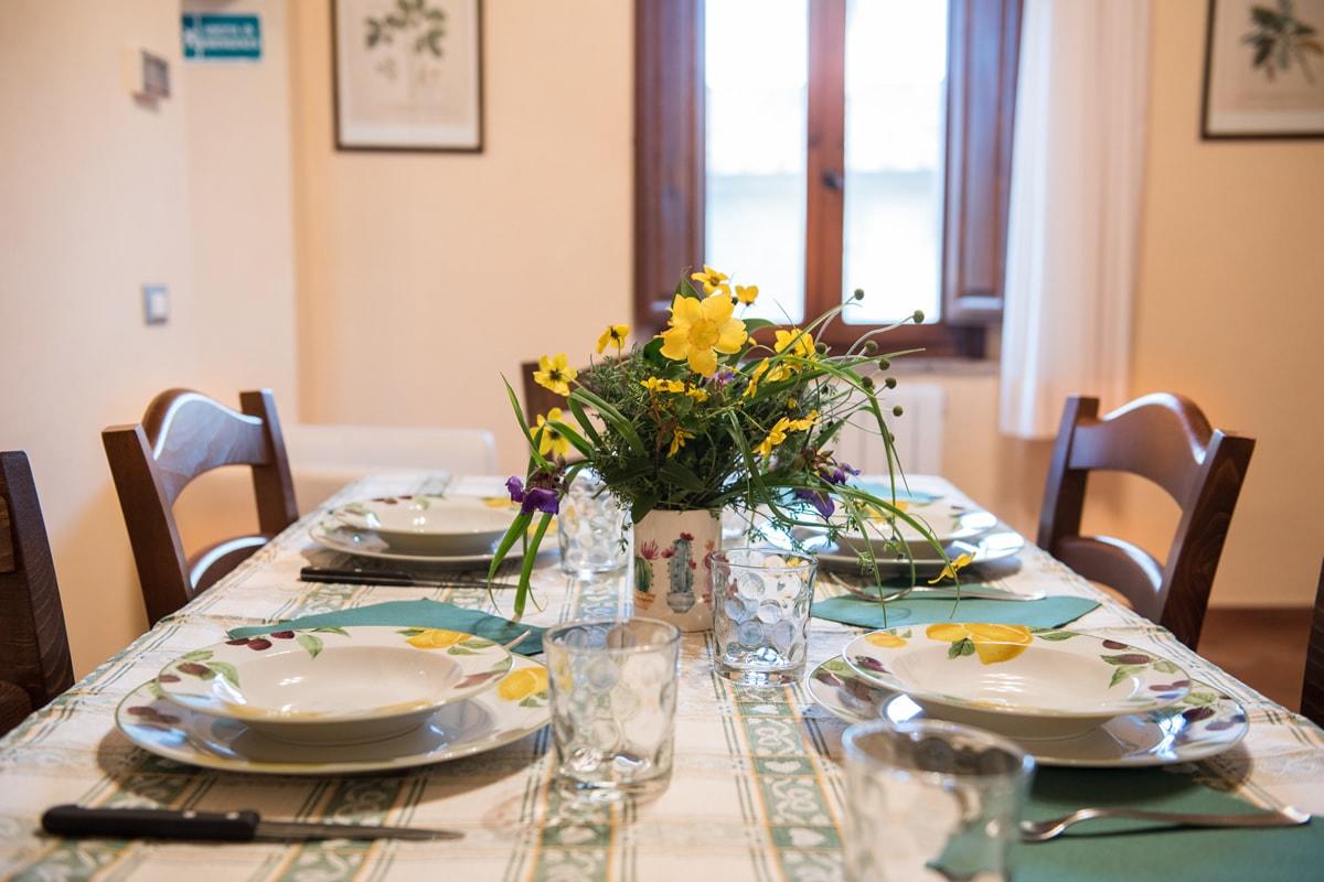 Appartamento Donatella - Tavolo pranzo
