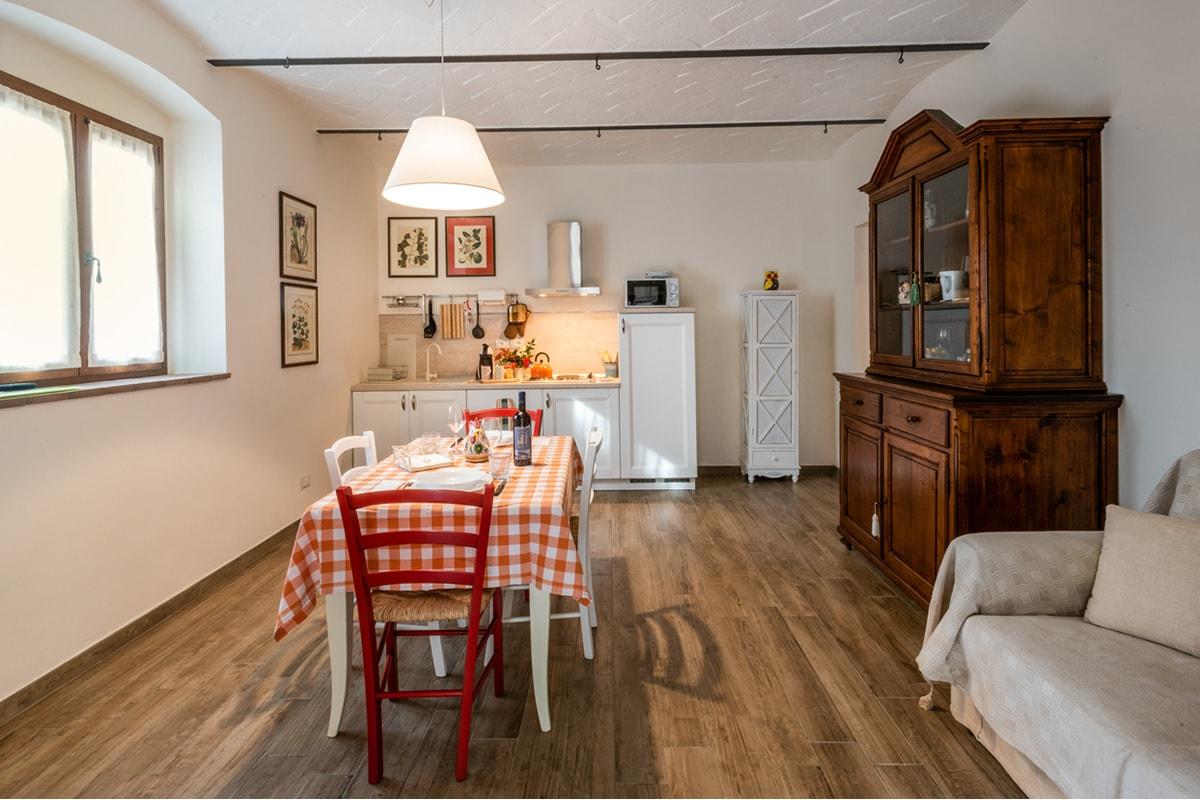 Appartamento Fabrizia - Cucina e tavola da pranzo