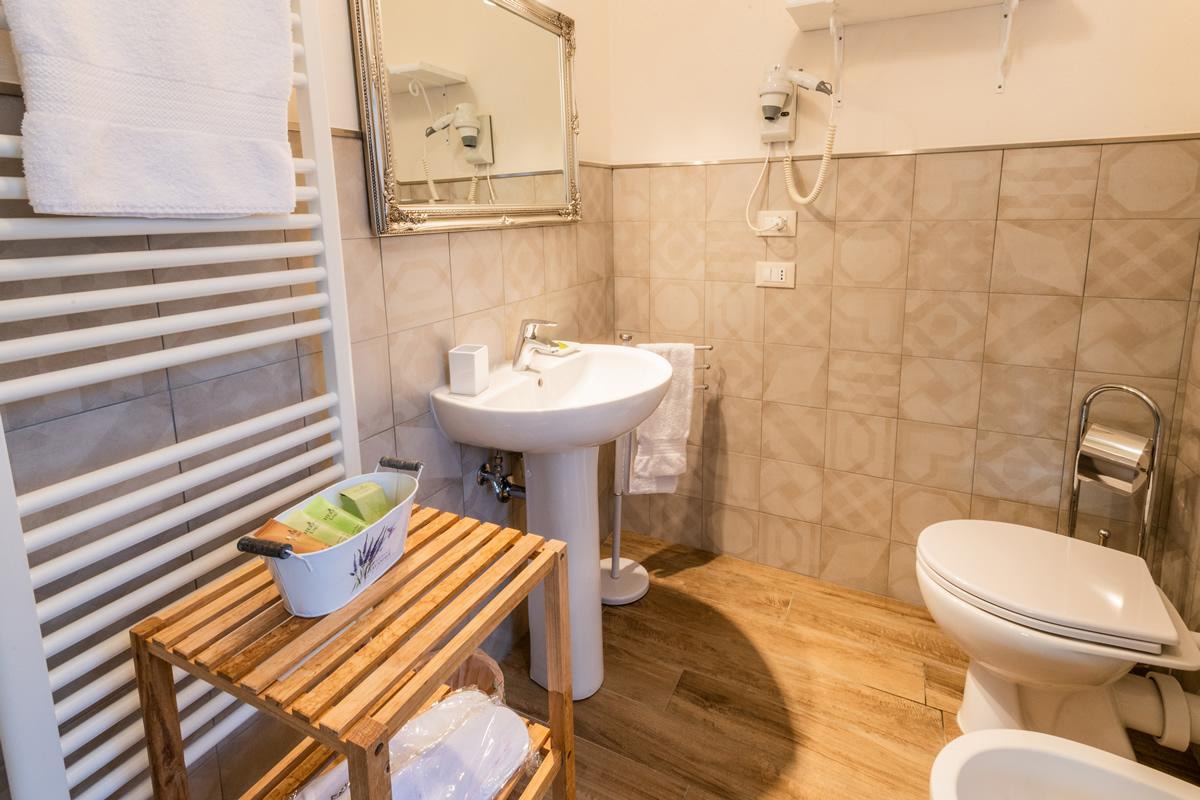 Appartamento Margherita - Bagno in camera