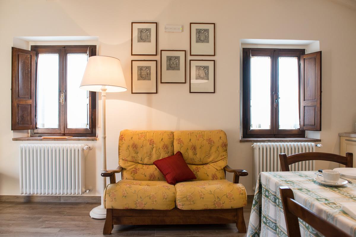 Appartamento Margherita - Poltrona soggiorno