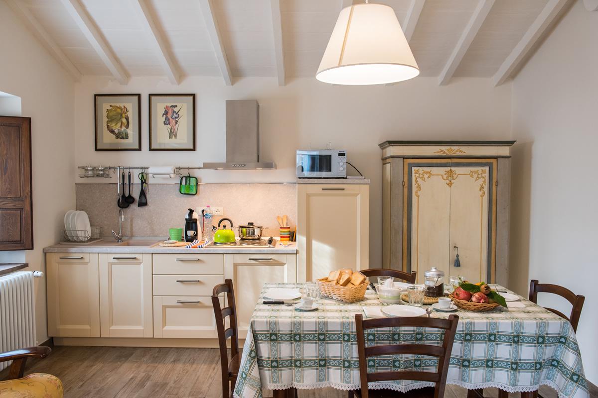 Appartamento Margherita - Soggiorno cucina appartamento