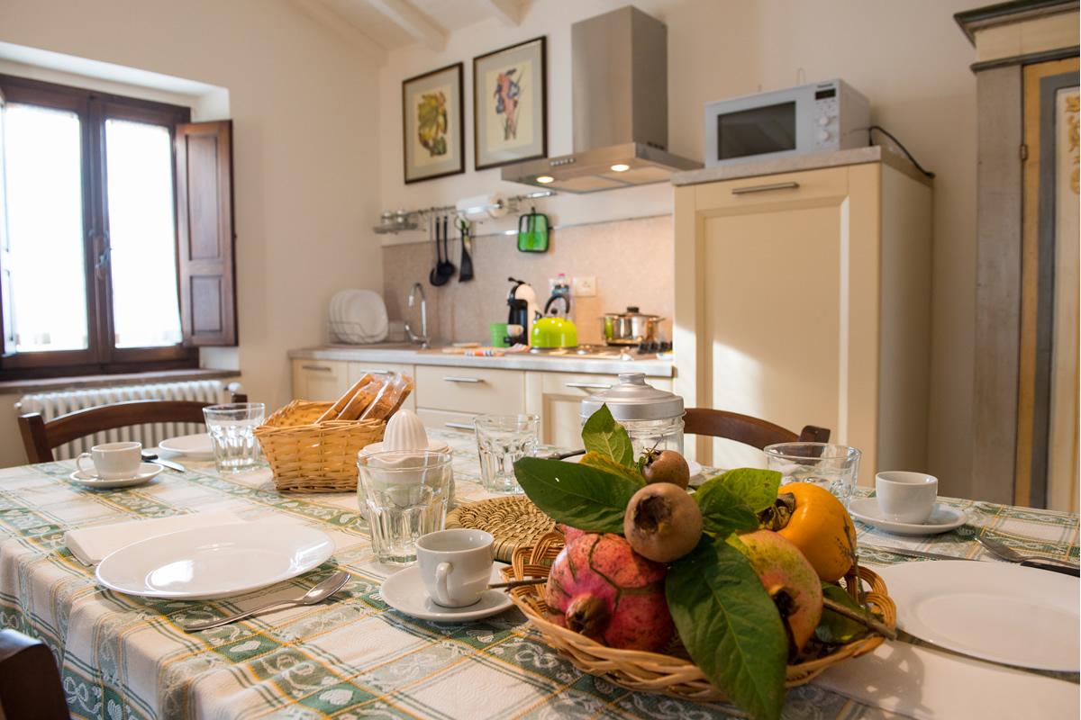 Appartamento Margherita - Tavolo pranzo