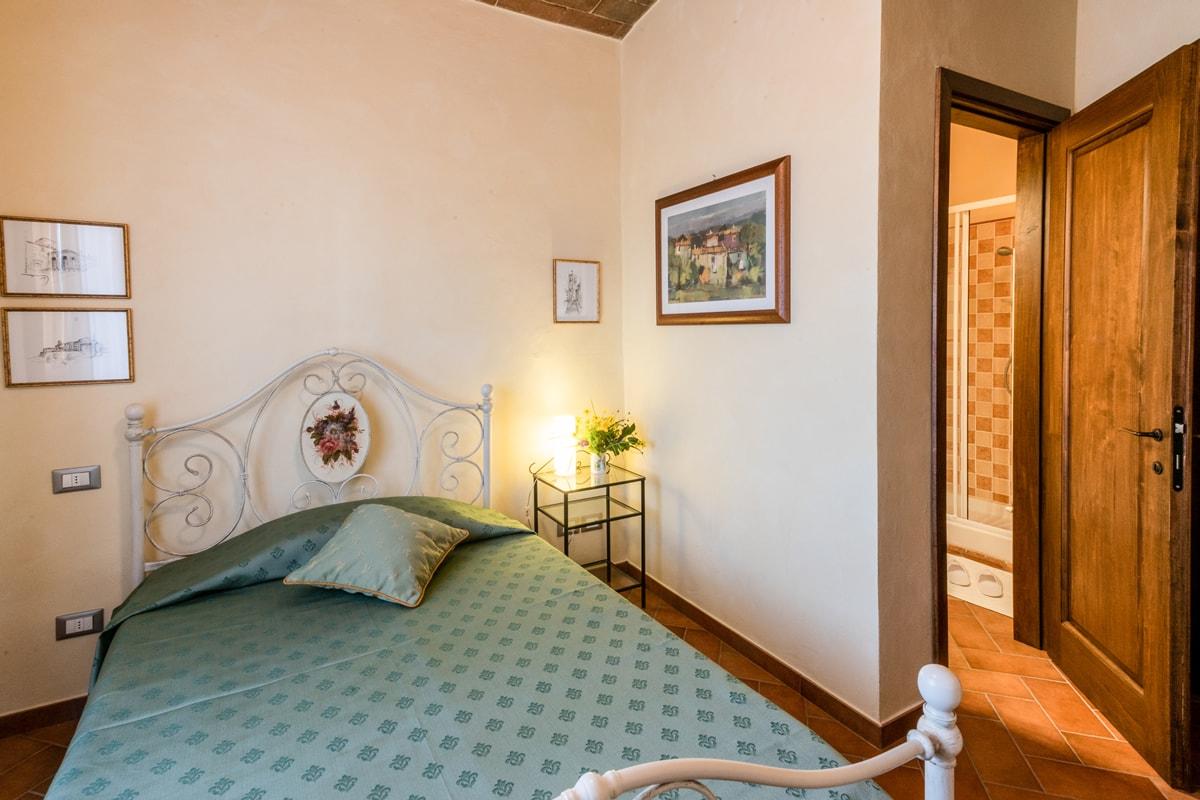 Appartamento Maria - Seconda camera matrimoniale con bagno privato