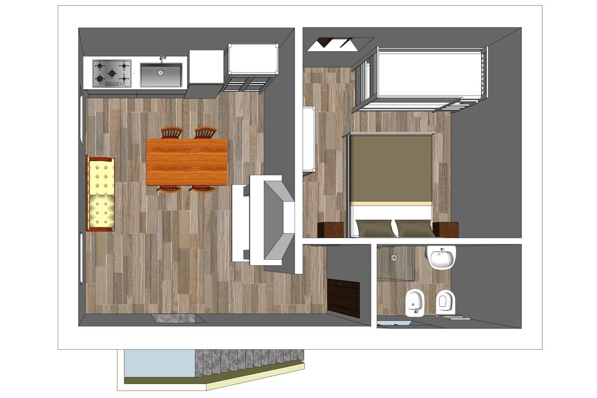 Appartamento vacanza per famiglie 4 persone | Anghiari ...