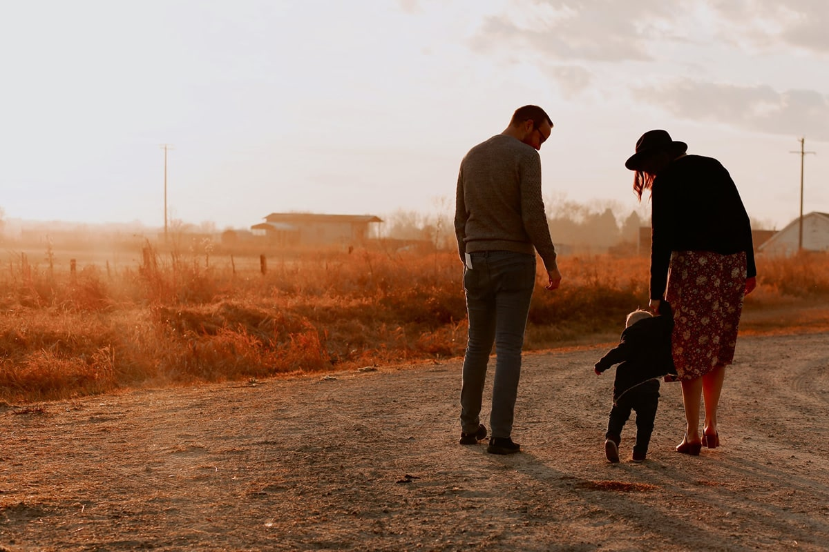 Servizio fotografico in famiglia